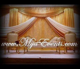 Wedding Stage Decoration Hire 299 Mehendhi Decor Mendhi
