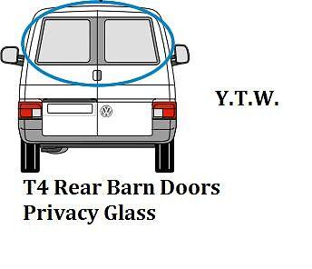 VW Transporter T4 1992 Côté Passager Arrière Porte De Grange int Poignée 721827185