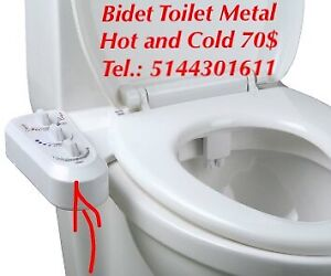 Bidet Toilette Hot and Cold Metal