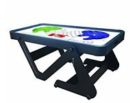 Air hockey table, donation required for British heart foundation