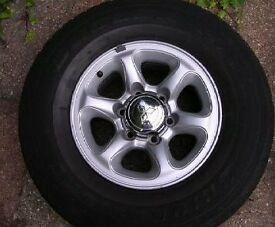 MK2 second generation Pajero '91 to '99 /Shogun/L200 wheels & tyres