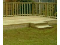 Deckings, fences, patios and artificial grass