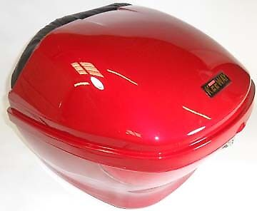 Candy Apple Boxen (Candy Apple Red Hard Case, Luggage Box, Top Box for Scooter / Motorcycle, 815096)