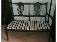 Vintage edwardian sofa