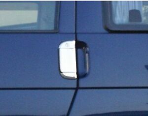 VW-VOLKSWAGEN-CARAVELLE-T4-CHROME-DOOR-HANDLE-TRIM-SET-COVERS-STEEL-TRIM
