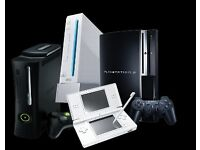 WANTED: All broken and Unused games consoles