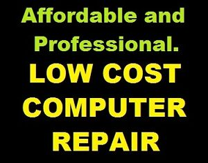 LOW COST COMPUTER REPAIR