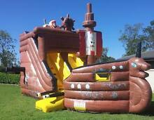 8mtr x 4mtr PIRATE SHIP Jumping Castle with Slide for Hire! Brisbane City Brisbane North West Preview