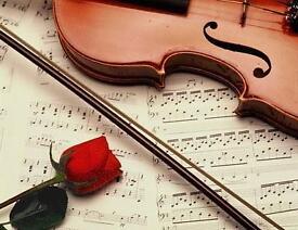 WEDDING MUSIC - SINGER, PIANO, VIOLINIST