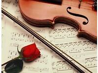 WEDDING MUSIC - SINGER, PIANO, VIOLINIST