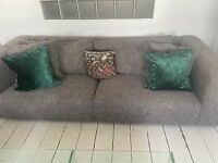 Heal's 3 seater sofa and love seat