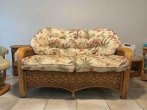 Rattan lounge suite - 6 piece