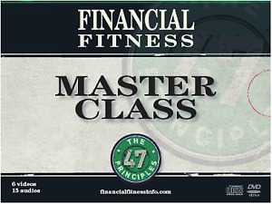 Financial Fitness Master Class - 6 Videos 15 Audios (Brand New)