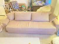 Free large sofa bed with storage