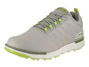 Skechers Go Golf Elite V.3 Mens Shoes Grey/Lime 54523