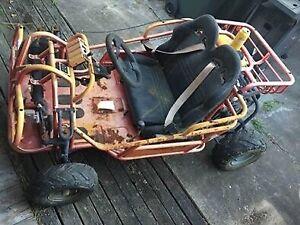 Kandi Go Kart Engine Swap