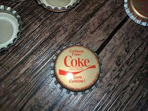 Vintage Coke Bottle Caps Unused