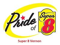 [Super 8 Vernon] Housekeepers Required