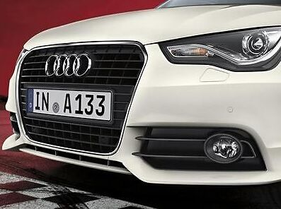NEW GENUINE AUDI A1 ACCESSORY COMPETITION FRONT BUMPER SPOILER SKIRT