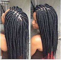 TRESSES AFRICAINE, RALLONGE dispo 24h/24  7jr/7