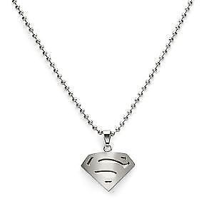 New Stainless Steel Superman Or Batman Ring And Necklace Set Windsor Region Ontario image 5