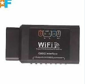 iPhone, iPad, Bluetooth Wifi OBD2 Scanner Interface. Brand New!