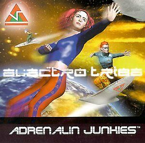 Adrenalin Junkies-Electro Tribe-New and sealed + bonus cd