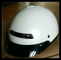 Casque moto DOT Blanc