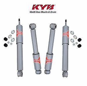 KYB Gas-A-Just Front and Rear Shocks