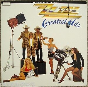 ZZ Top-Greatest Hits-Laser Disc!