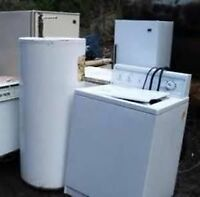 wanted please...unwanted appliances or scrap metal items