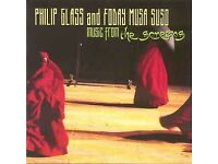 Philip Glass - and Foday Musa Suso Music from the screens. (2001 CD).As new.