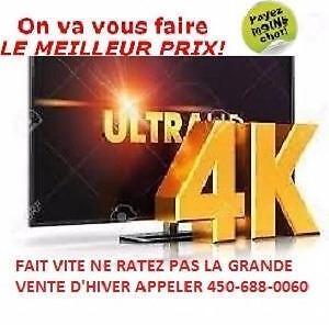GRANDE VENTE JUILLET, TV SAMSUNG LG SONY SHARP SMART FULL HD, 4K AVEC UN PRIX IMBATTABLE ET 2ANS DE GARANTIE GRATUITE