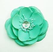Green Flower Hair Accessories