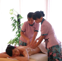 Couple /4hands massage is only $140