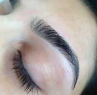 Eyebrow & upper lip threading $6 ! special deals on waxing