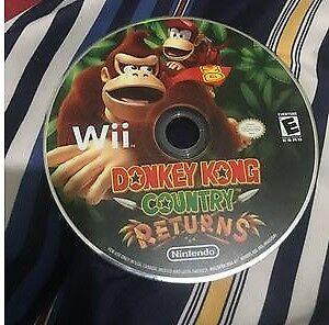 Donkey Kong Country Returns CD Wii Game