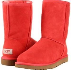 RED UGGS SIZE 7