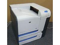 HP Colour LaserJet CP3525X A4 Network Ready Laser Printer