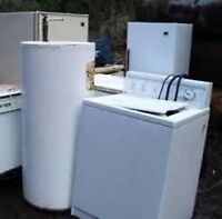 wanted please..unwanted appliances or scrap metal items