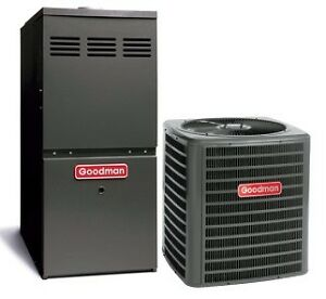 BUY A FURNACE FROM $995+ *after rebates* (TWO-STAGE GOODMAN)