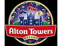 Alton tower's tickets 15 each. See dates