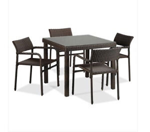 5-piece patio dinette set brand new perfect condition