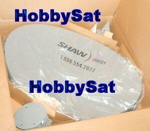 75cm elliptical COTTAGE satellite Shaw Direct Star Choice no lnb