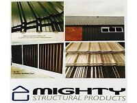 Tile Effect Roofing Sheets, Box profile sheets, corrugated iron, we manufacture