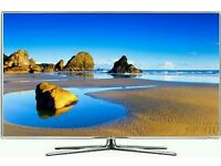 """SAMSUNG 40"""" 8 series LED smart 3D wifi HD freeview full hd 1080p clear crystal picture ."""