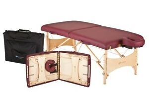 Professional portable massage therapy table (foldable/wooden)