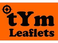 LEAFLET DISTRIBUTORS WANTED. £7.20 to £8.50 ph! South London. Interviewing now.