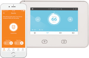 Monitored Security and Home Automation at Less Than $2/Day