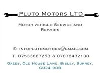 Car and motorbike servicing, mechanical and electrical repairs.